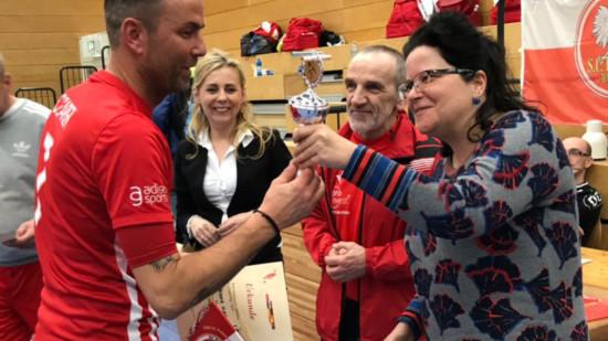 Preisverleihung beim Fußballturnier von SC Polonia mit Unterstützung des Integrationsbeirates Herrenhausen-Stöcken