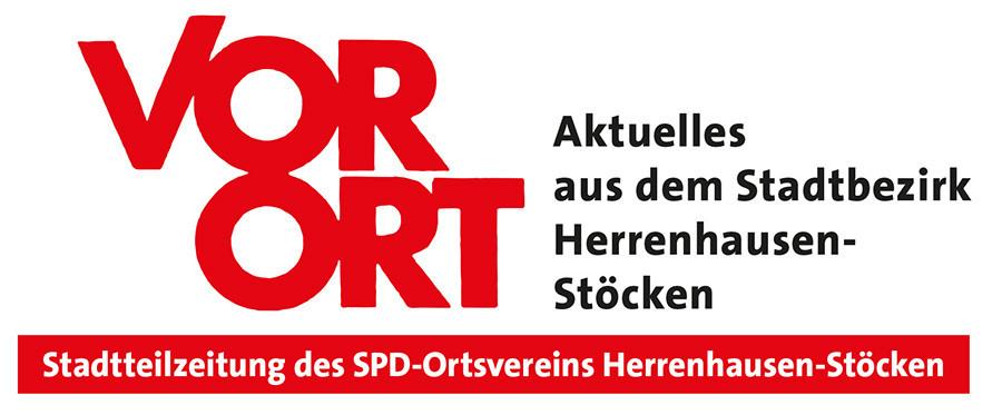 Titel der VorOrt, Stadtteilzeitung des SPD-Ortsvereins Herrenhausen-Stöcken