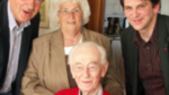 Jubilarehrung Erich Backhaus für 80jahre